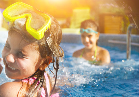 GOING SWIMMING? DON'T SHARE EQUIPMENT